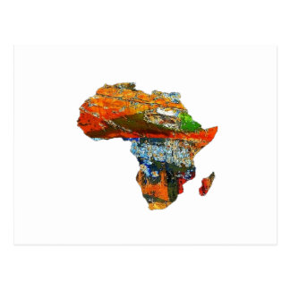 Mother Africa Postcard