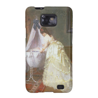 Mother and Baby, 1869 (oil on panel) Samsung Galaxy SII Cover