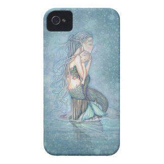Mother and Baby Mermaid Fantasy Art iPhone Case