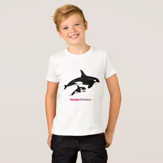 Mother and Baby Orcas T-Shirt
