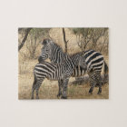 Mother and Baby Zebra  Puzzle