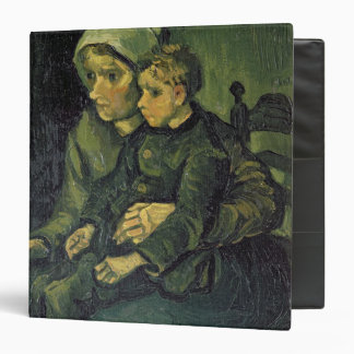 Mother and Child, 1885 3 Ring Binders