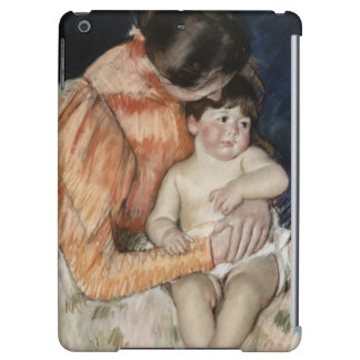 Mother and Child, 1890s iPad Air Case