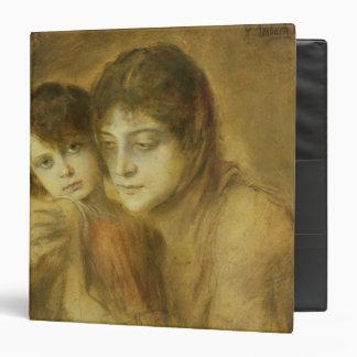 Mother and Child 1893 Vinyl Binder
