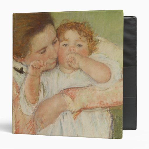 Mother and Child, 1897 Vinyl Binders