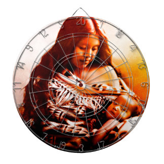 MOTHER AND CHILD 2 DARTBOARD
