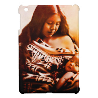 MOTHER AND CHILD 2 iPad MINI COVER
