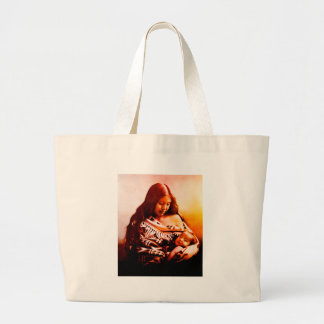 MOTHER AND CHILD 2 LARGE TOTE BAG