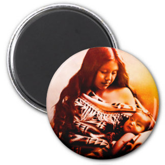 MOTHER AND CHILD 2 MAGNET