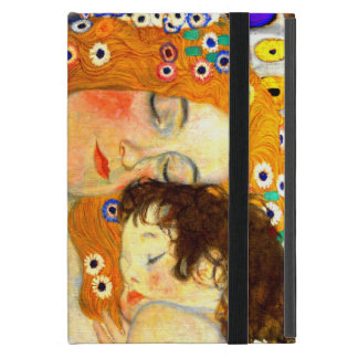 Mother and Child by Gustav Klimt Art Nouveau Case For iPad Mini