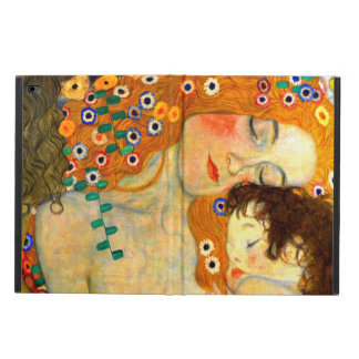 Mother and Child by Gustav Klimt Art Nouveau Powis iPad Air 2 Case