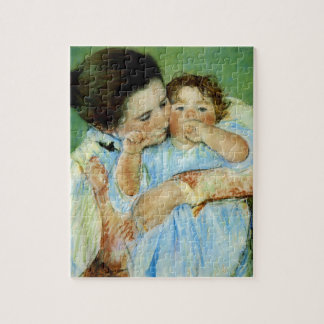 Mother and Child by Mary Cassat Puzzles