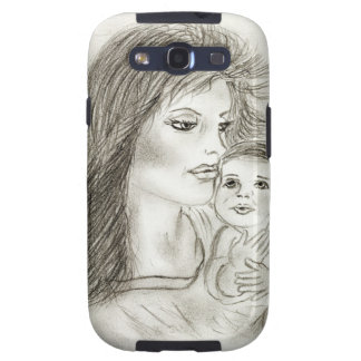 Mother and Child Samsung Galaxy SIII Cover