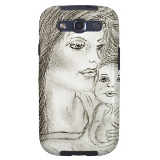 Mother and Child Galaxy SIII Cases