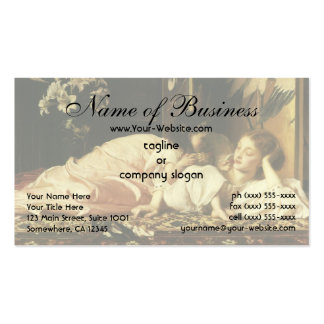 Mother and Child (Cherries) Lord Frederic Leighton Business Card