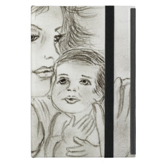 Mother and Child Cover For iPad Mini