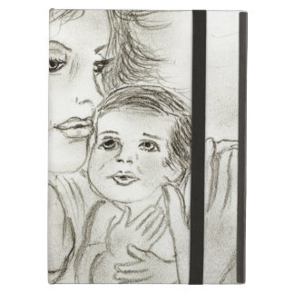 Mother and child iPad cover