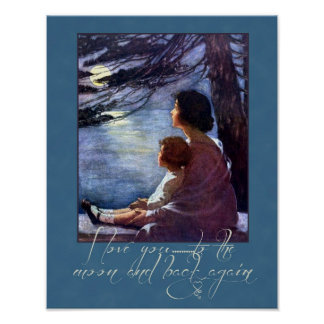 Mother and Child Love Poster