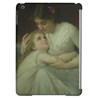 Mother and Child (oil on canvas) iPad Air Cover