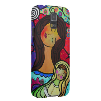 Mother and Child Painting Case For Galaxy S5