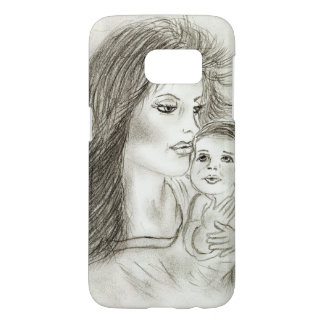 Mother and child samsung galaxy s7 case