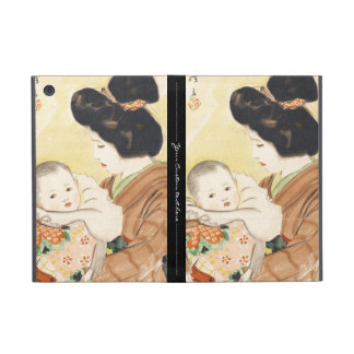 Mother and Child Shinsui Ito japanese portrait art iPad Mini Cases