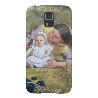 Mother and Child with a poppy Galaxy S5 Cases