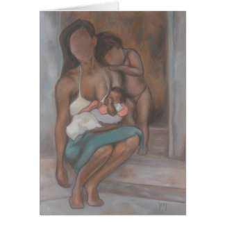 Mother and Children Card