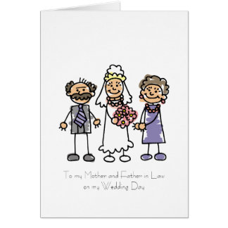 Mother and Father in Law Poem Greeting Card