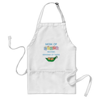 Mother and Grandmother of Twins Standard Apron