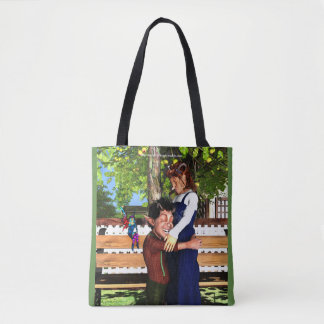 Mother and Son. Tote Bag