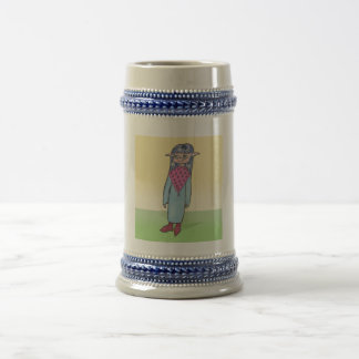 Mother Anime Art Gallery Character 18 Oz Beer Stein