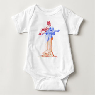 Mother Armenia, Proud Armenian Women (in English) Baby Bodysuit
