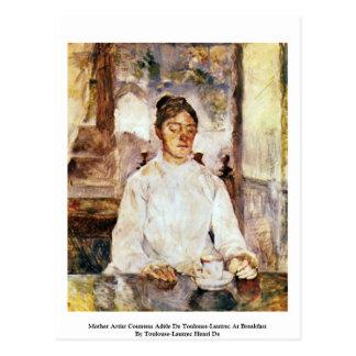 Mother Artist Countess Adèle De Toulouse-Lautrec Postcard
