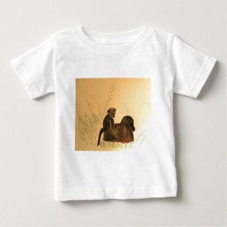 Mother & Baby Baboons - Wildlife Monkeys Primates Baby T-Shirt