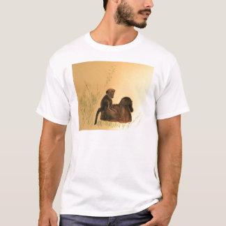 Mother & Baby Baboons - Wildlife Monkeys Primates T-Shirt