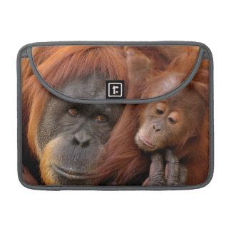 Mother & Baby Orangutan Sleeve For MacBook Pro