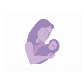 Mother Baby Postcard