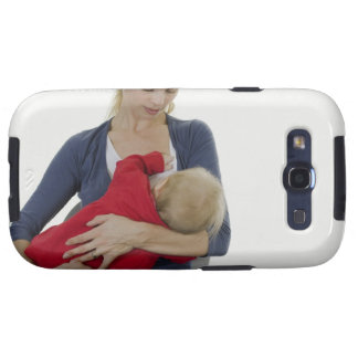 Mother breastfeeding her baby. samsung galaxy s3 covers