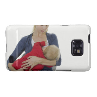 Mother breastfeeding her baby. samsung galaxy s2 case
