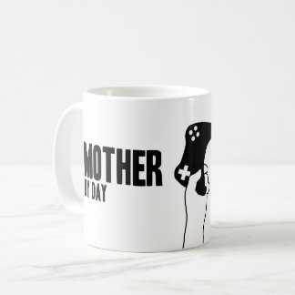 MOTHER BY DAY GAMER BY NIGHT MUG