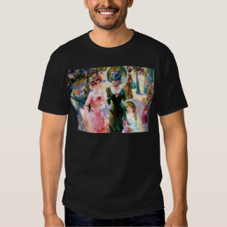 Mother & Child Street Scene Mother's Day Card Shirt