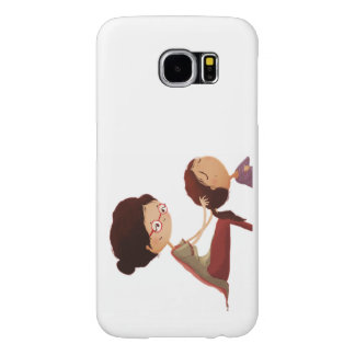 Mother Daughter art Samsung Galaxy S6 Cases