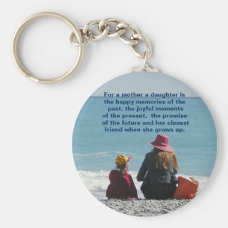 Mother & Daughter Keychain