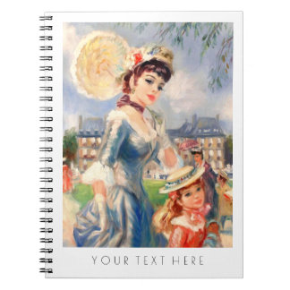 Mother & Daughter Painting Fine Art Gift Notebooks