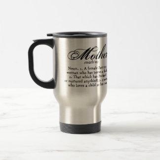 Mother Definition, Mother's Day Travel Mug