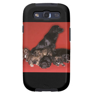 Mother dog with puppies galaxy s3 cover