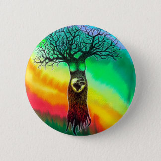 Mother Earth 2 Inch Round Button
