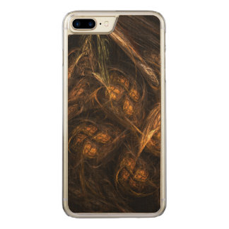 Mother Earth Abstract Art Carved iPhone 7 Plus Case