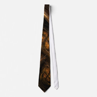Mother Earth Abstract Art Tie